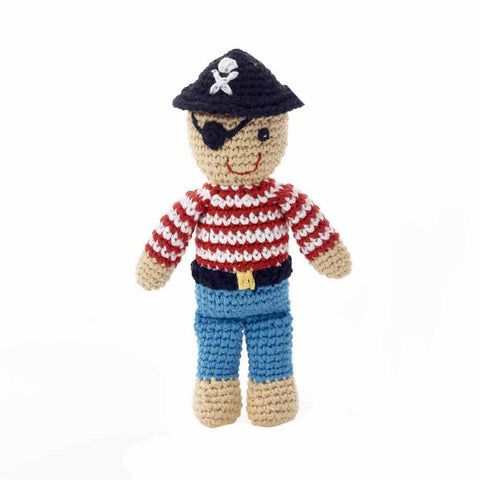 Crochet Pirate Rattle