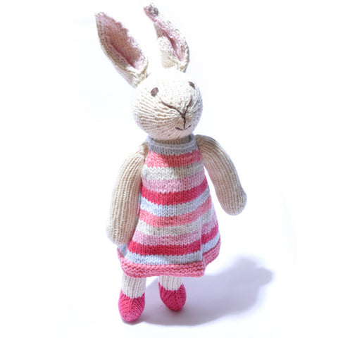 Rabbit in Stripey Dress