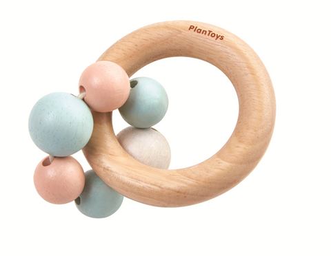 Pastel Beads Rattle