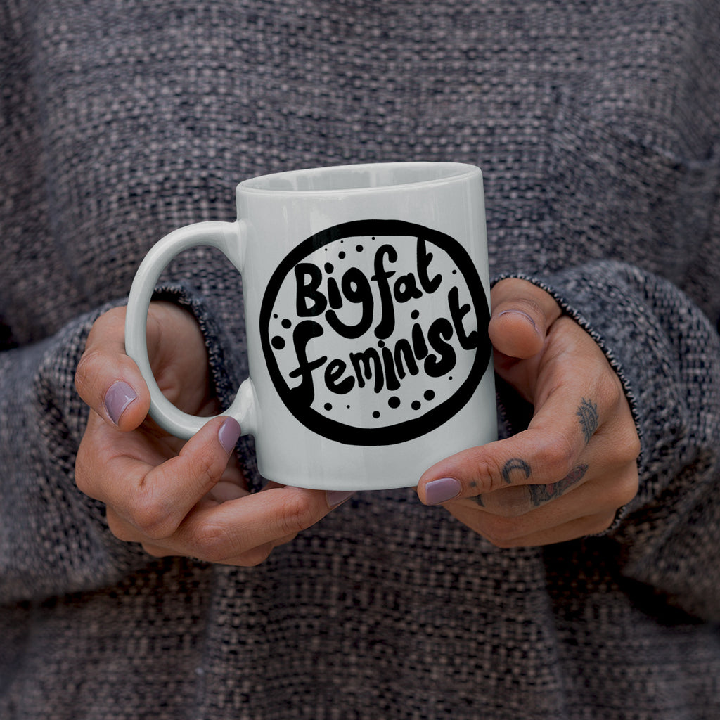 big fat feminist mug by milk and moon