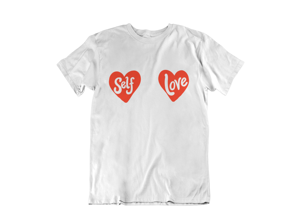 organic cotton feminist self love  tee
