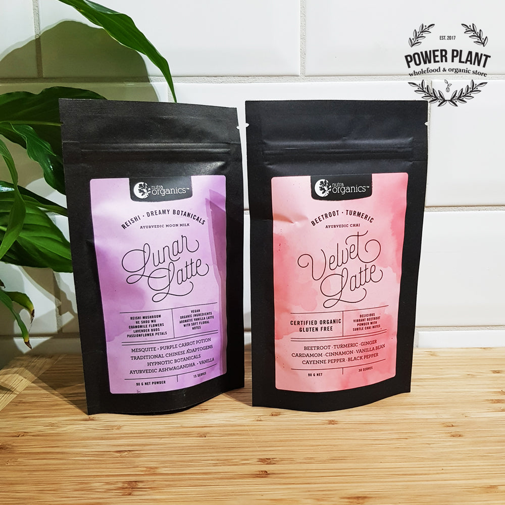 HERBAL LATTE BLEND - NUTRA ORGANICS 90gm
