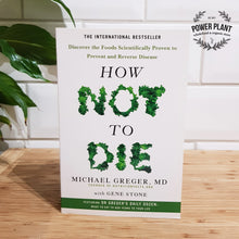 Load image into Gallery viewer, HOW NOT TO DIE BOOK - BY DR. MICHAEL GREGER