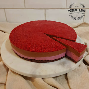 WHOLE RAW CAKE - CHOCOLATE RASPBERRY JELLY TIP