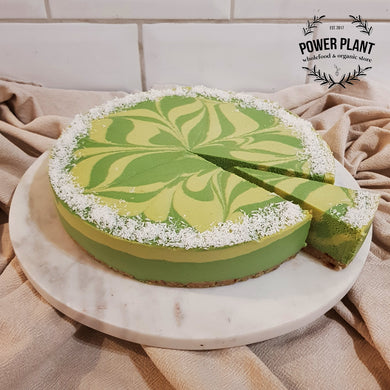 WHOLE RAW CAKE - LIME AND COCONUT