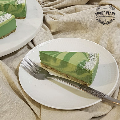 RAW CHEESECAKE SLICE - LIME & COCONUT