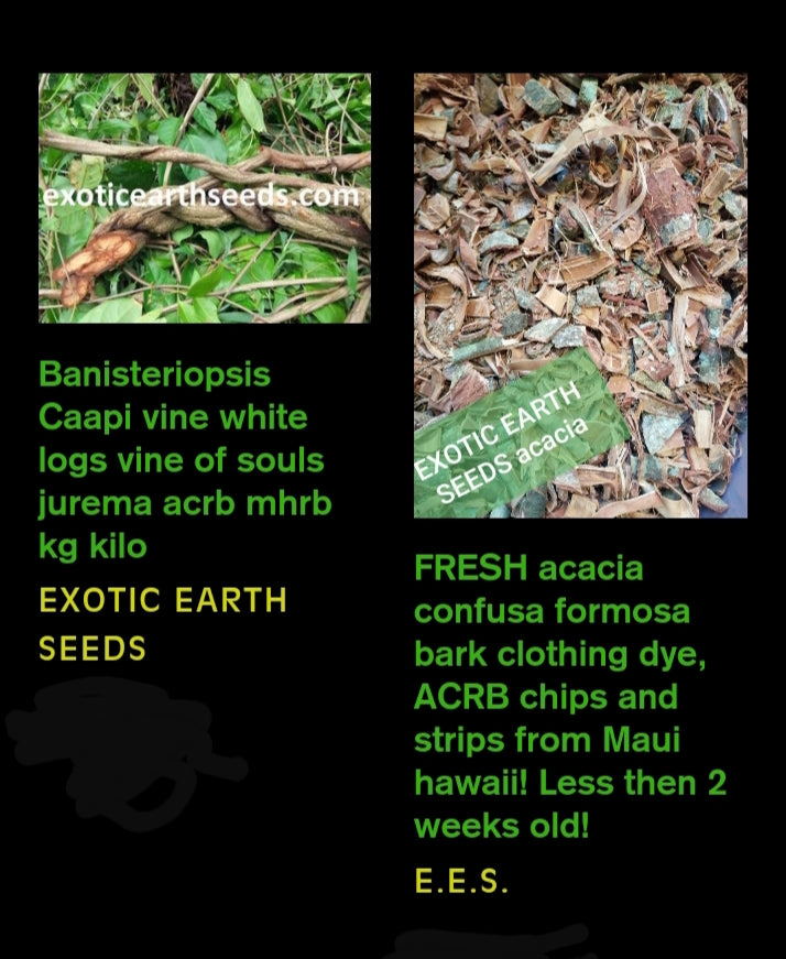 AYA MIX 1kg caapi vine & 1kg acacia confusa formosa bark combo SPIRIT AND BODY CLEANSE combo 150$ SALE