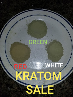 Combo 3 pack THAI kratom strains mixed package WHITE, GREEN & RED sale powdered leaves fresh and strong Mitragyna Speciosa