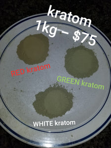 GREEN THAI Kratom powdered leaves fresh and strong Mitragyna Speciosa