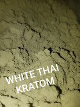 Load image into Gallery viewer, WHITE THAI Kratom powdered leaves fresh and strong Mitragyna Speciosa