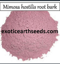 Load image into Gallery viewer, 30+ gram Mimosa Hostilis FINELY POWDERED Root Bark clothing dye MHRB powder JUREMA Tenuiflora BRAZILIAN