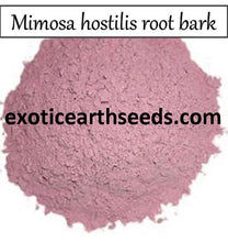 Load image into Gallery viewer, 50+ gram Mimosa Hostilis POWDERED Root Bark clothing dye MHRB powder JUREMA Tenuiflora BRAZILIAN