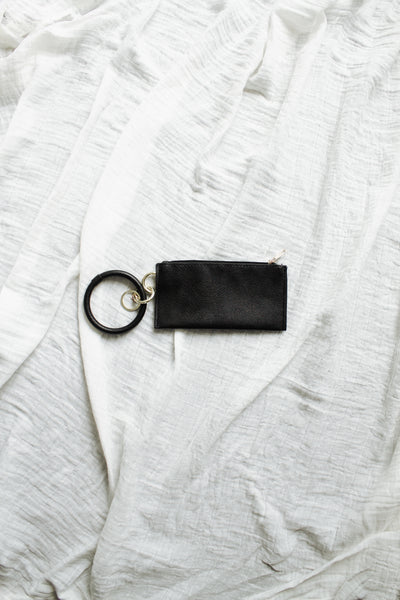 Market Bracelet Pouch in Black