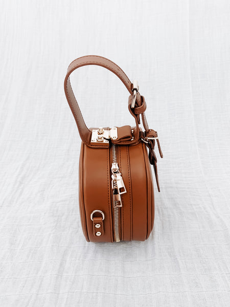 Oxford Street Leather Circle Bag