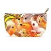 BP001 Leopard Gecko Art Accessory Pouch - Exotic Animal Art | Ink Snow Flying