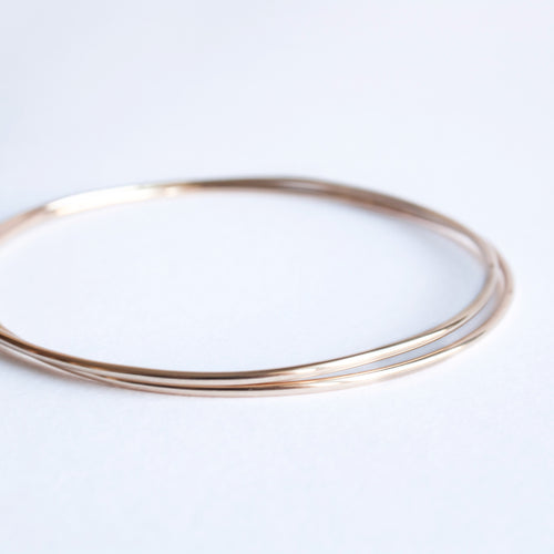 Abby Bangle gold 18k