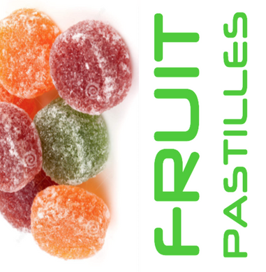 FRUIT PASTILLES - Gin Concentrated Flavouring Drops