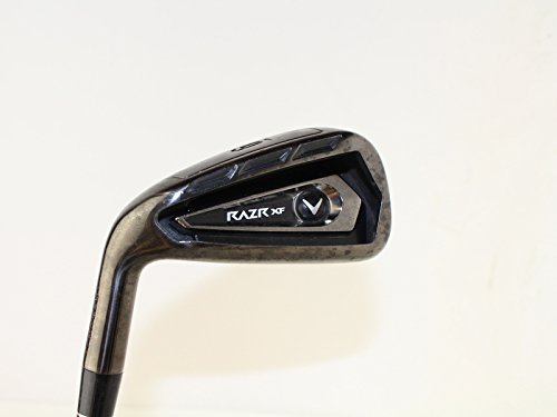 Callaway Razr XF Single Iron 6 Iron True Temper GS95 R300 Steel Regular Left Handed 37.5 in