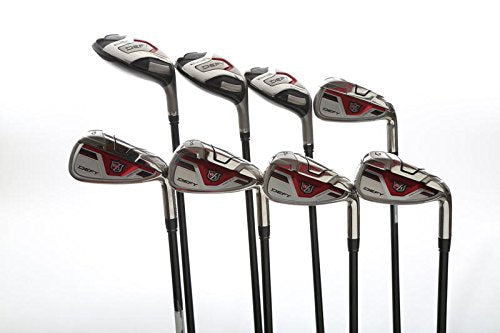 Wilson Staff Defy Iron Set 4H 5H 6H 7-PW GW Wilson Defy 54g Graphite Senior Right Handed 39 in