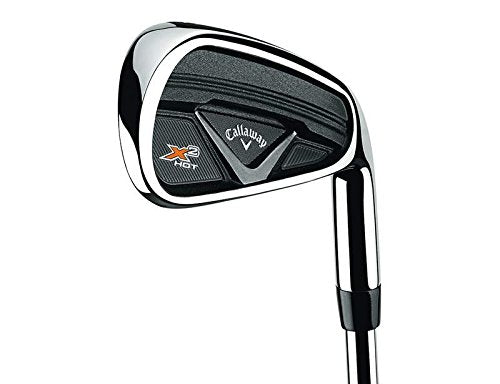 Callaway X2 Hot Pro Iron Set 4-PW Project X 95 5.5 Flighted Steel Stiff Left 37.75 in