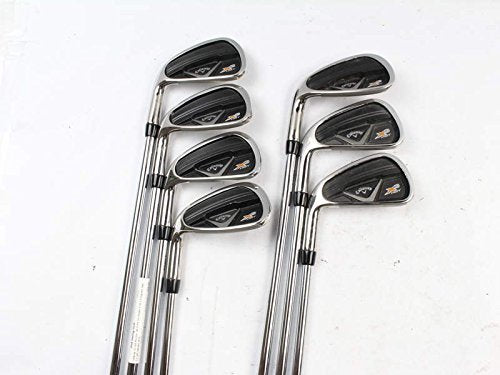 Callaway X2 Hot Pro Iron Set 4-PW Project X 95 5.5 Flighted Steel Stiff Left Handed 38 in