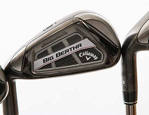 Mint Callaway Big Bertha OS Iron Set 5-PW UST Mamiya Recoil ES 460 Graphite Senior Left Handed 38.5 in