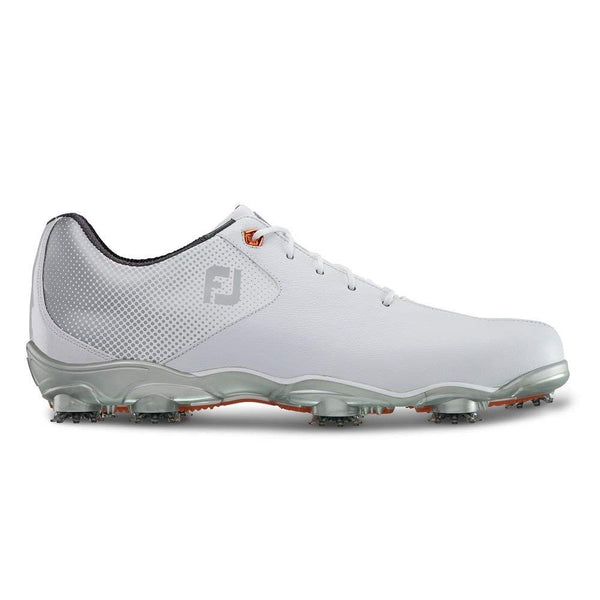FootJoy D.N.A. Helix Golf Shoes (8, White/Silver)