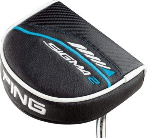 PING Sigma 2 Fetch Platinum Putter (PING PP60 Pistol Putter Grip - Midsize)