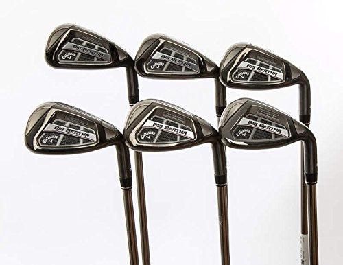 Mint Callaway Big Bertha OS Iron Set 6-GW UST Mamiya Recoil ES 460 Graphite Senior Right Handed 37.75 in