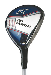 Callaway 2014 Big Bertha Fairway Wood 3 Wood 3W 15 Mitsubishi Fubuki Z Fairway 65 Graphite Regular Left Handed 43.25 in