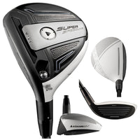 Adams Golf Speedline Super LS Golf Fairway Wood (Left Hand, Graphite, Regular, 18-Degree)