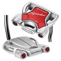 TaylorMade Spider Diamond Silver Double Bend Putter