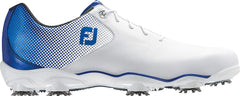 FootJoy D.N.A. Helix Golf Shoes (8.5, White/Blue)