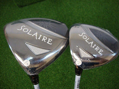 CallawaySolaire 11° Driver and 3 Wood Set (Left)