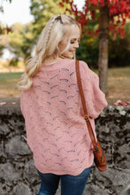 Load image into Gallery viewer, Seasons Of Change In Dusty Pink Dolman Sweater