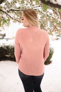 Color Me Impressed Dusty Mauve Top