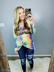 Charcoal Burst Sequin Top