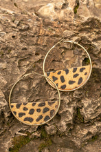 Load image into Gallery viewer, Stay Wild Earrings In Cheetah