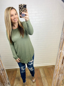 Long Sleeve Perfect Top