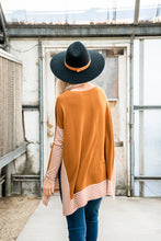 Load image into Gallery viewer, Keep It Simple Cape Sweater