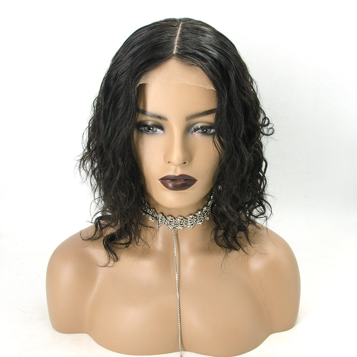 [NEW IN]Most Realistic Silk Base Scalp Natural Curly Lace Front Wig