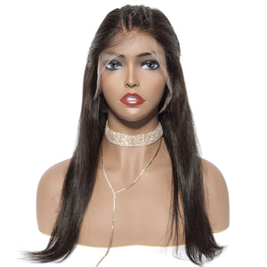 Undetectable Swiss Transparent Lace Frontal Human Hair Wig