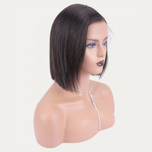HD Undetectable Transparent Lace Front Wig