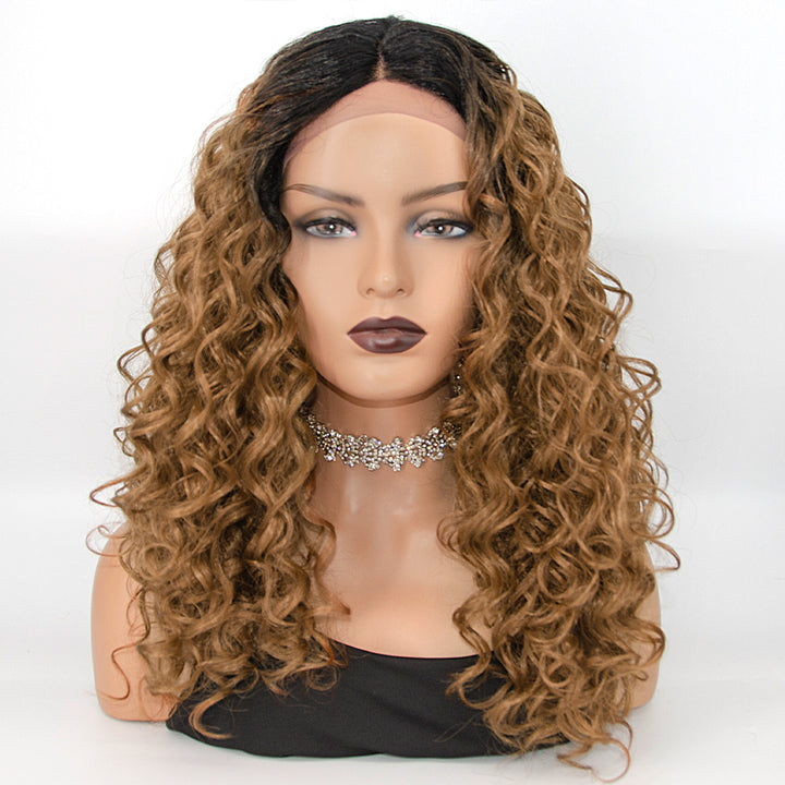 [NEW IN]22 Inches Body Wave Ombre Synthetic Lace Front Wigs