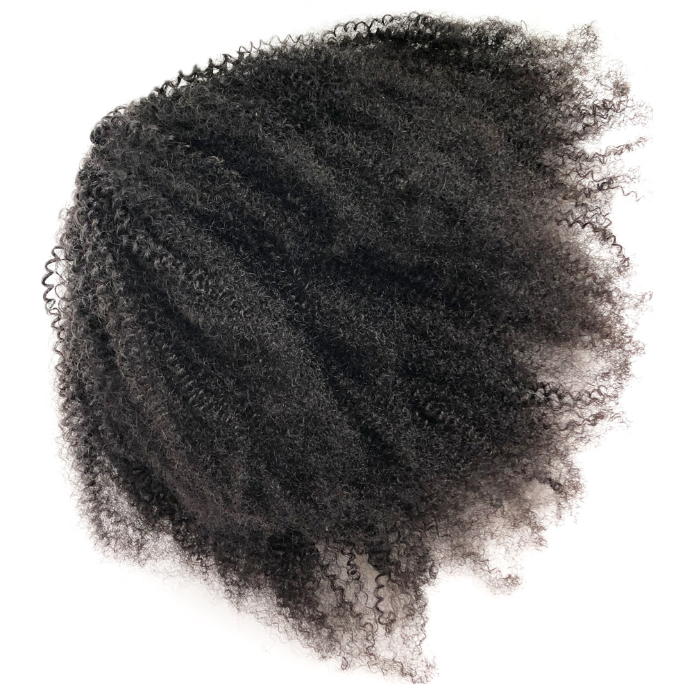 Drawstring Ponytail Afro Kinky Curly Hair Extension