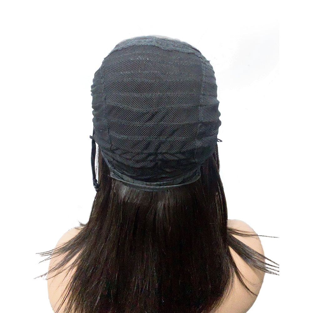 "【NEW IN】12 Inch 5""x5"" Pre-plucked Straight Lace Closure Wig Human Remy Hair"