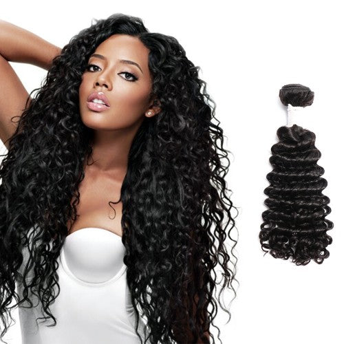 【Diamond 10A】	Diamond Virgin Hair Deep Curly