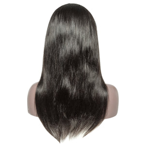Glueless Brazilian Virgin Hair 13 X6 Lace Front Wig With