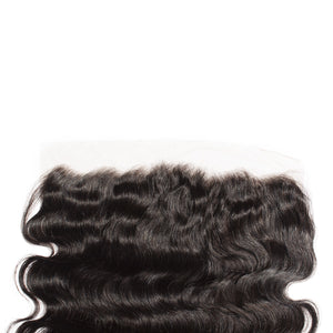 8-20 Inch Virgin Brazilian Hair Body Wavy 13*4 Free Part Lace Frontal Closure