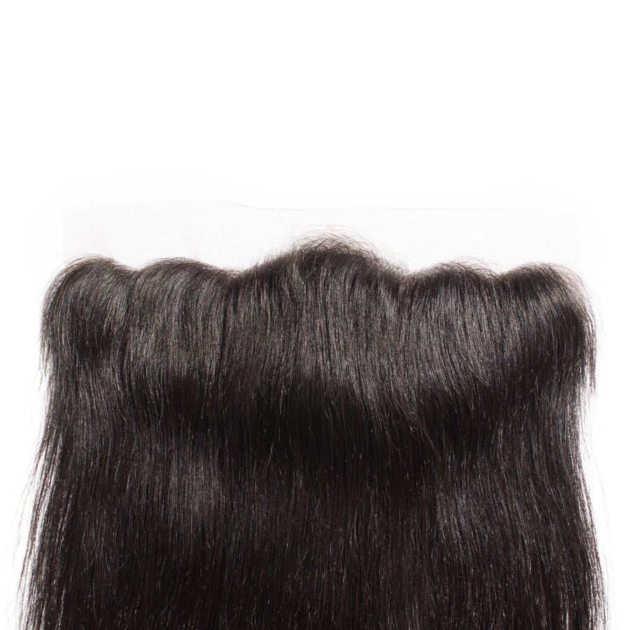8-20 Inch 7A Virgin Brazilian Hair Straight 13*4 Free Part Lace Frontal Closure